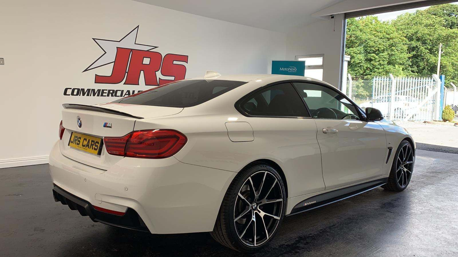 2018 BMW 4 Series 2.0 420d M Sport Auto (s/s) Diesel Automatic Genuine BMW M Performance Kit – J R S Commercials And Cars Dungannon full