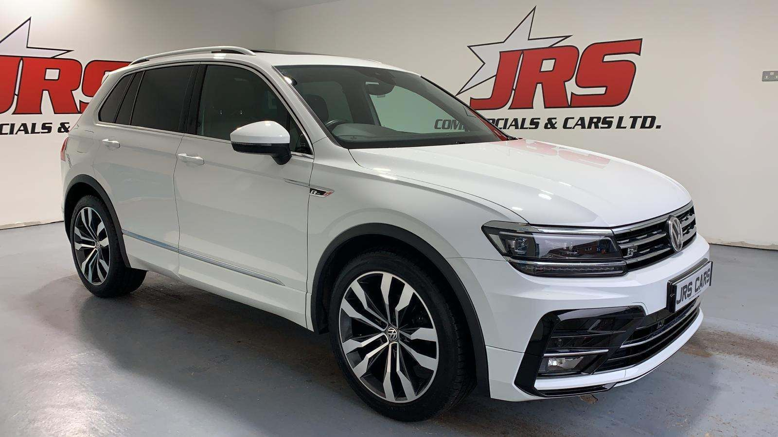 2017 VOLKSWAGEN Tiguan 2.0 TDI R-Line DSG 4Motion (s/s) Diesel Automatic Face Lift – Pan Roof – 150Bhp – J R S Commercials And Cars Dungannon