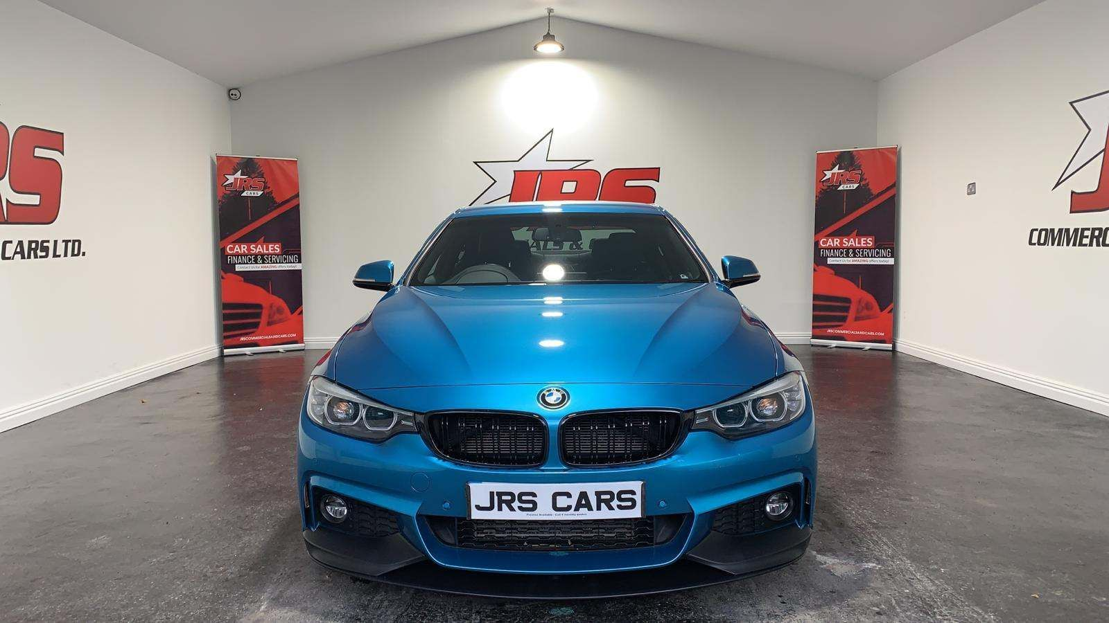 2017 BMW 4 Series 3.0 430d M Sport Auto (s/s) Diesel Automatic Snapper Rocks Blue Metallic – J R S Commercials And Cars Dungannon full