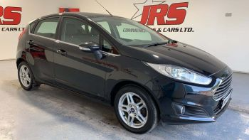 2013 FORD Fiesta 1.5 TDCi Zetec Diesel Manual £0 Road – Tax Low Insurance – J R S Commercials And Cars Dungannon