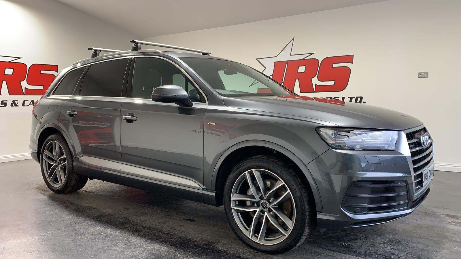 2016 AUDI Q7 3.0 TDI V6 S line Tiptronic quattro (s/s) Diesel Automatic Virtual Cockpit – Pan Roof – J R S Commercials And Cars Dungannon full