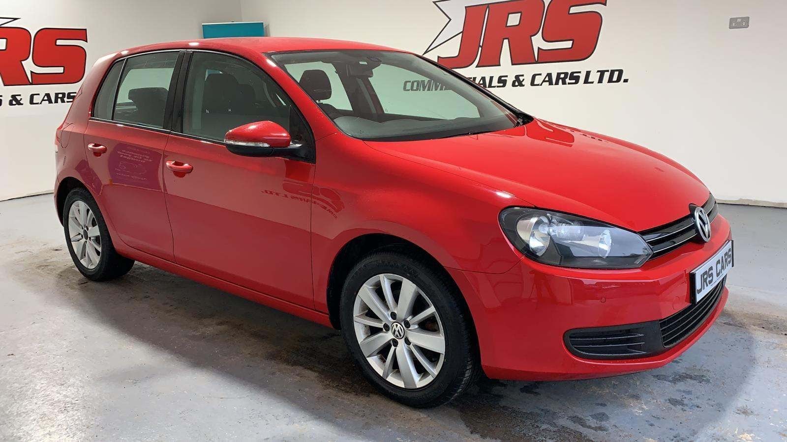 2012 VOLKSWAGEN Golf 1.6 TDI Match Diesel Manual **Tornado Red-£30 Road Tax** – J R S Commercials And Cars Dungannon