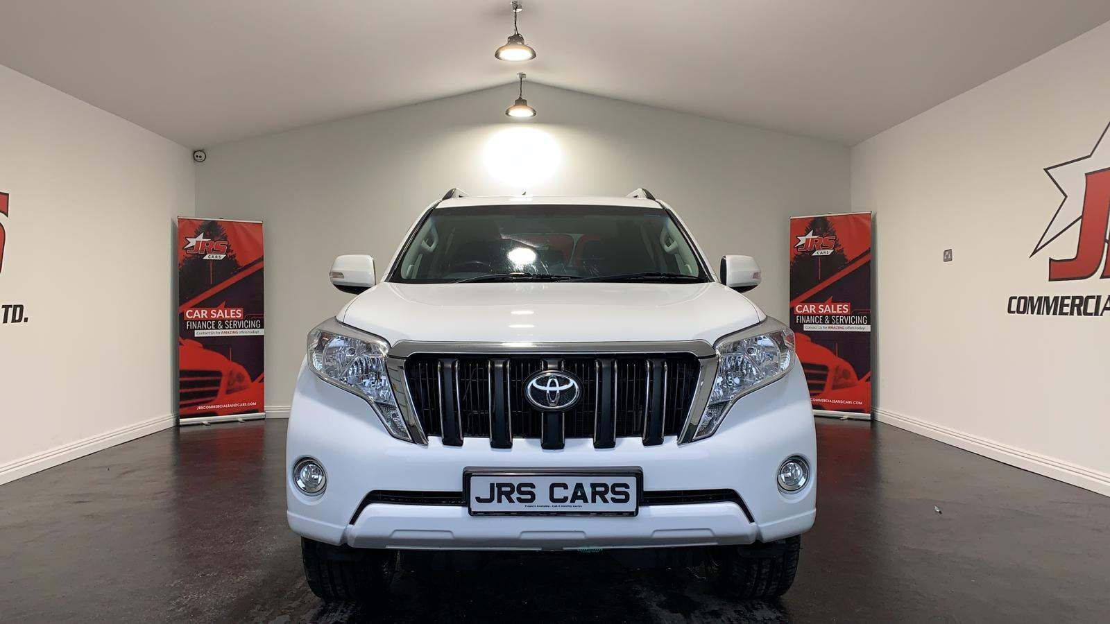 2014 TOYOTA Land Cruiser 3.0 D-4D Active  (5 Seats) Diesel Manual *SWB- Rev Cam – Tow Bar* – J R S Commercials And Cars Dungannon full