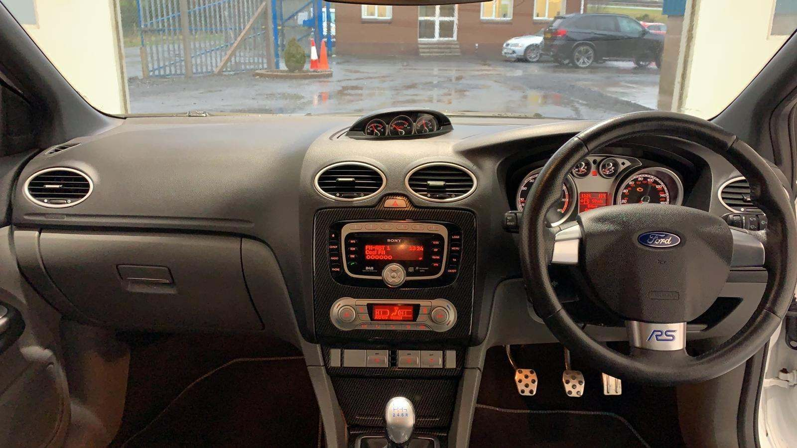 2010 FORD Focus 2.5 RS Petrol Manual **black RS Sports Seats** – J R S Commercials And Cars Dungannon full