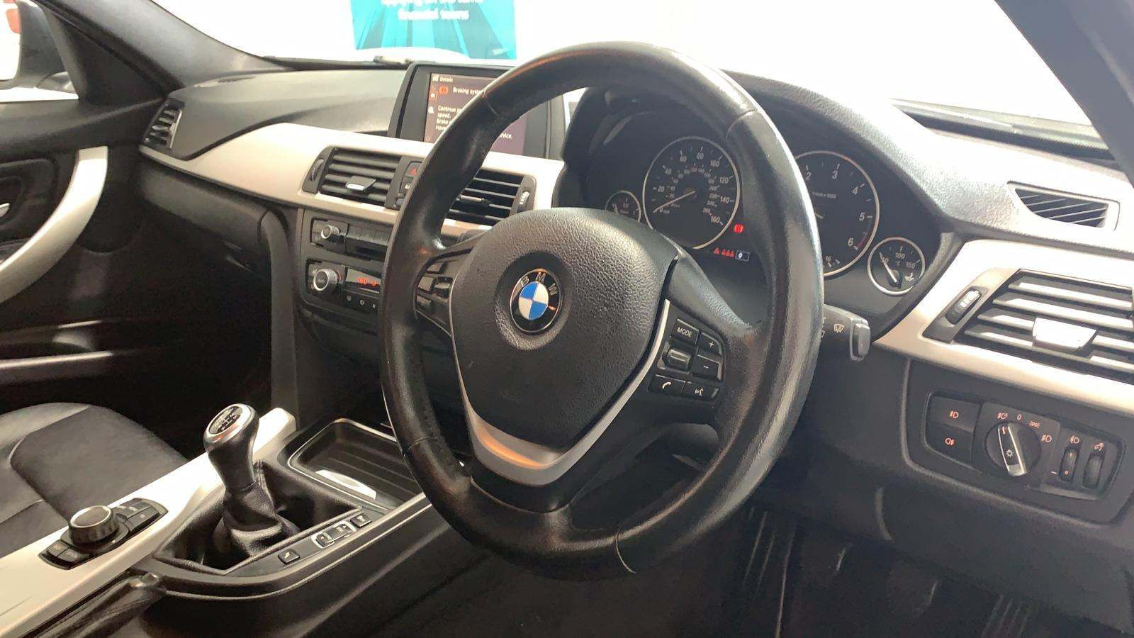2012 BMW 3 Series 2.0 320d SE (s/s) Diesel Manual Black Leather – Heated Seats – J R S Commercials And Cars Dungannon full