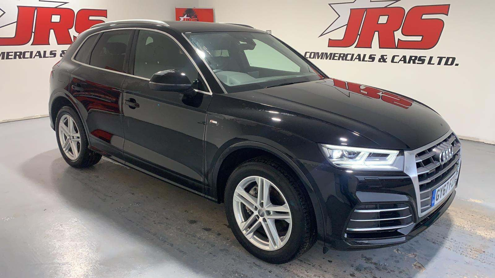 2017 AUDI Q5 2.0 TDI S line S Tronic quattro (s/s) Diesel Automatic  – J R S Commercials And Cars Dungannon