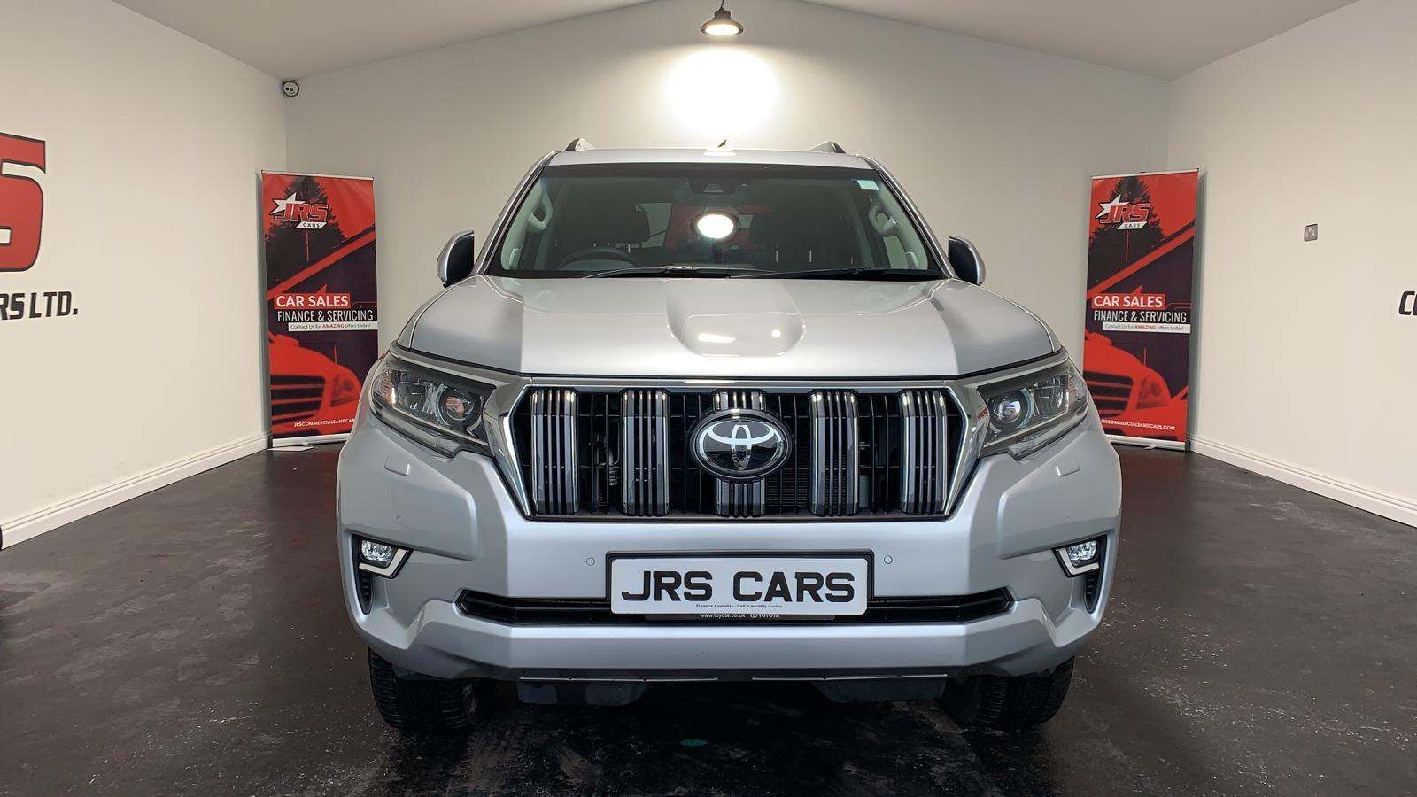 2019 TOYOTA Land Cruiser 2.8D Icon Auto 4WD  (7 Seat) Diesel Automatic *Sat Nav-Rev Camera* – J R S Commercials And Cars Dungannon full