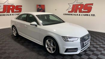 2016 AUDI A4 2.0 TDI S line S Tronic (s/s) Diesel Automatic *Glacier White Metallic* – J R S Commercials And Cars Dungannon