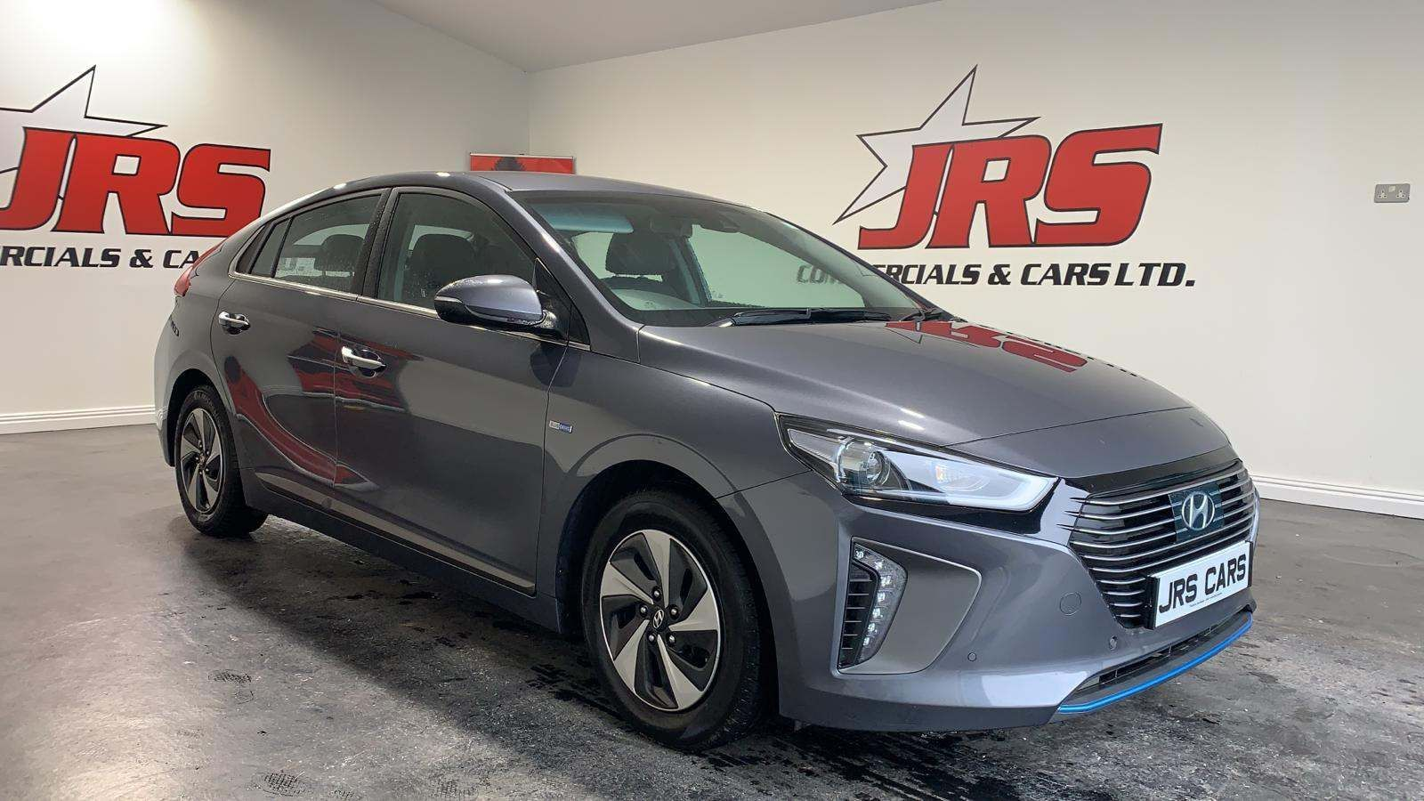 2018 HYUNDAI Ioniq 1.6 h-GDi Premium SE DCT (s/s) Hybrid – Petrol/Electric Automatic *Heated Seats – Aux/USB* – J R S Commercials And Cars Dungannon full