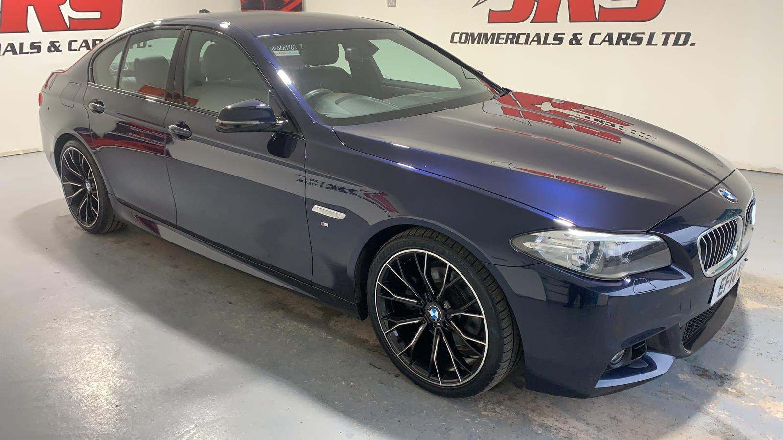 2014 BMW 5 Series 2.0 520d M Sport Diesel Automatic  – J R S Commercials And Cars Dungannon