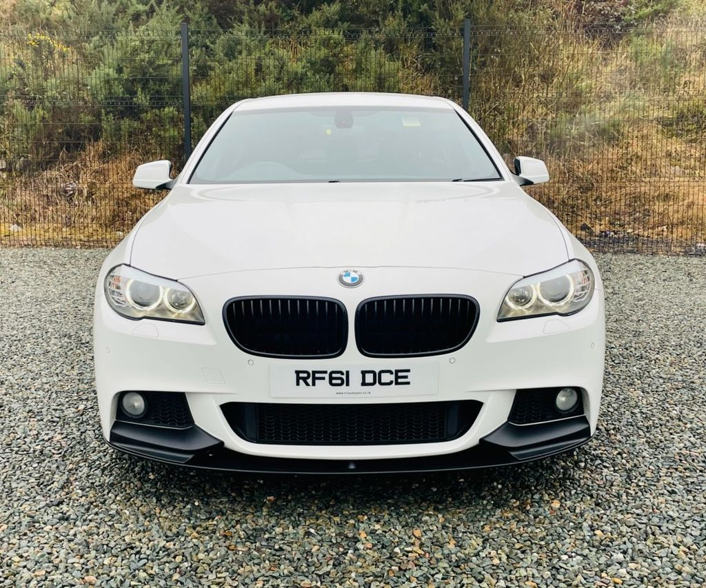2012 BMW 5 Series 2.0 520D M SPORT Diesel Automatic  – MC autosales Magherafelt full