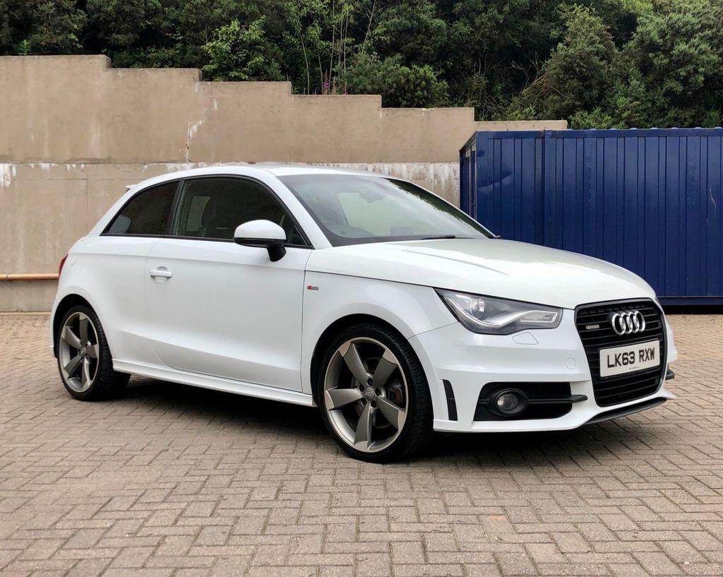 2013 Audi A1 2.0 TDI BLACK EDITION 2.0 Diesel Manual White ...