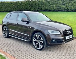 2013 Audi Q5 2.0 TDI QUATTRO S LINE Diesel Automatic  – MC autosales Magherafelt
