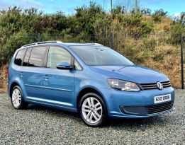 2013 Volkswagen Touran 1.6 SE TDI BLUEMOTION TECHNOLOGY Diesel Manual  – MC autosales Magherafelt