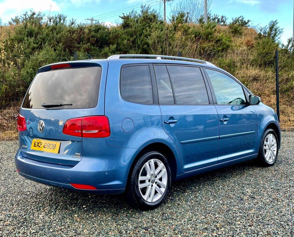 2013 Volkswagen Touran 1.6 SE TDI BLUEMOTION TECHNOLOGY Diesel Manual  – MC autosales Magherafelt full