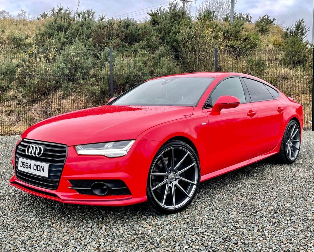 2014 Audi A7 3.0 SPORTBACK TDI QUATTRO BLACK EDITION Diesel Automatic  – MC autosales Magherafelt full