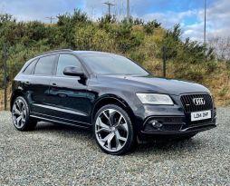 2014 Audi Q5 2.0 TDI QUATTRO S LINE PLUS Diesel Automatic  – MC autosales Magherafelt