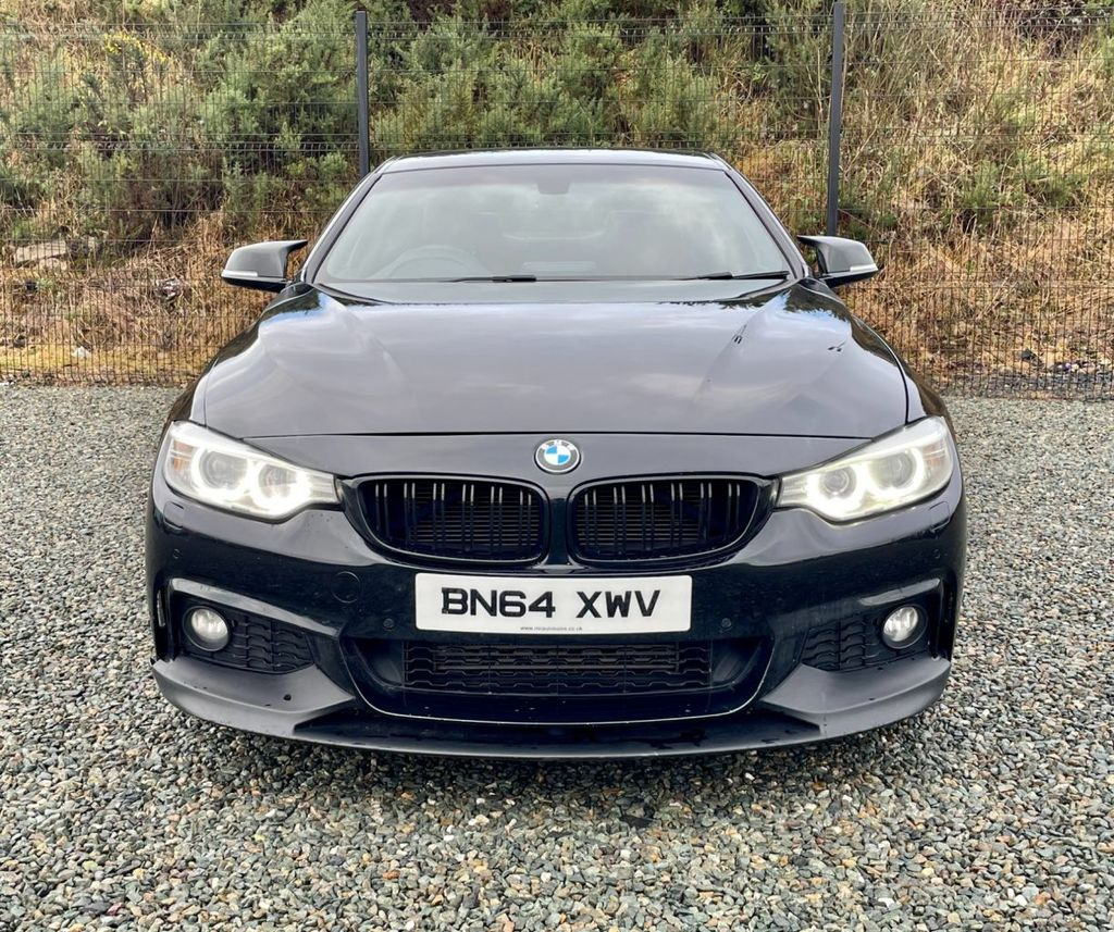 2014 BMW 4 Series 2.0 420D M SPORT Diesel Automatic  – MC autosales Magherafelt full