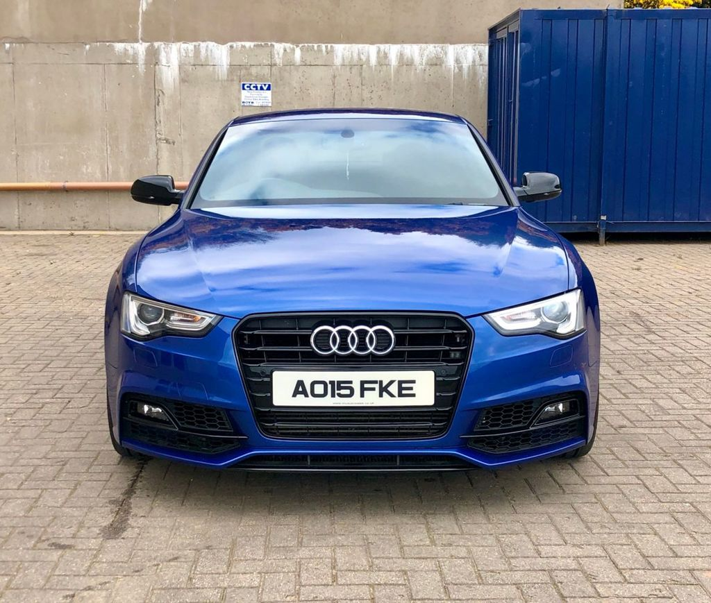 2015 Audi A5 2.0 TDI S LINE BLACK EDITION PLUS Diesel Manual  – MC autosales Magherafelt full
