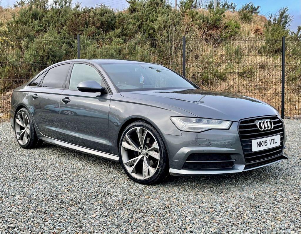 2015 Audi A6 W   2.0 TDI ULTRA S LINE Diesel Semi Auto  – MC autosales Magherafelt full