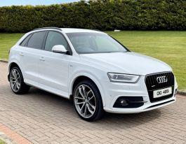 2015 Audi Q3 2.0 TDI QUATTRO S LINE PLUS Diesel Manual  – MC autosales Magherafelt
