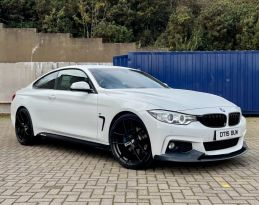 2015 BMW 4 Series 2.0 420D M SPORT Diesel Automatic  – MC autosales Magherafelt