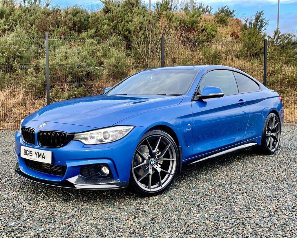 2015 BMW 4 Series 2.0 420D M SPORT Diesel Manual  – MC autosales Magherafelt full