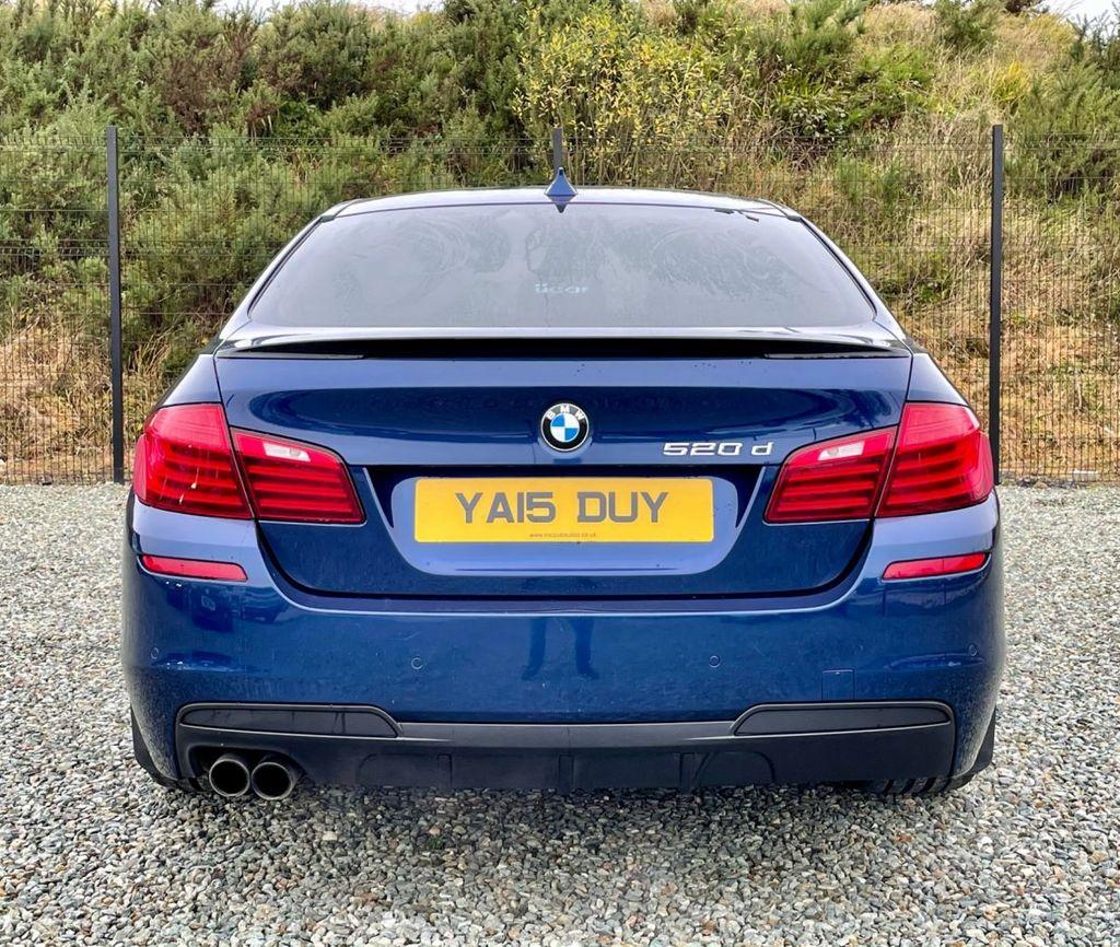 2015 BMW 5 Series 2.0 520D M SPORT Diesel Automatic  – MC autosales Magherafelt full