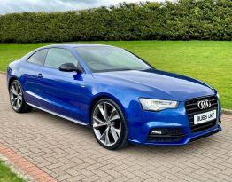 2016 Audi A5 2.0 TDI BLACK EDITION PLUS Diesel Manual  – MC autosales Magherafelt
