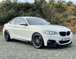 2016 BMW 2 Series 2.0 220D M SPORT Diesel Automatic  – MC autosales Magherafelt