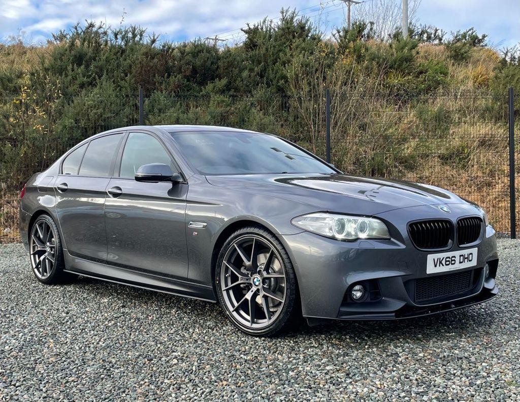 2016 BMW 5 Series 2.0 520D M SPORT Diesel Automatic  – MC autosales Magherafelt full