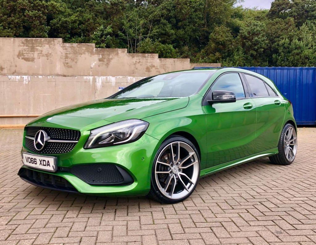 2016 Mercedes-Benz A Class A-CLASS 1.5 A 180 D AMG LINE PREMIUM Diesel Semi Auto  – MC autosales Magherafelt full
