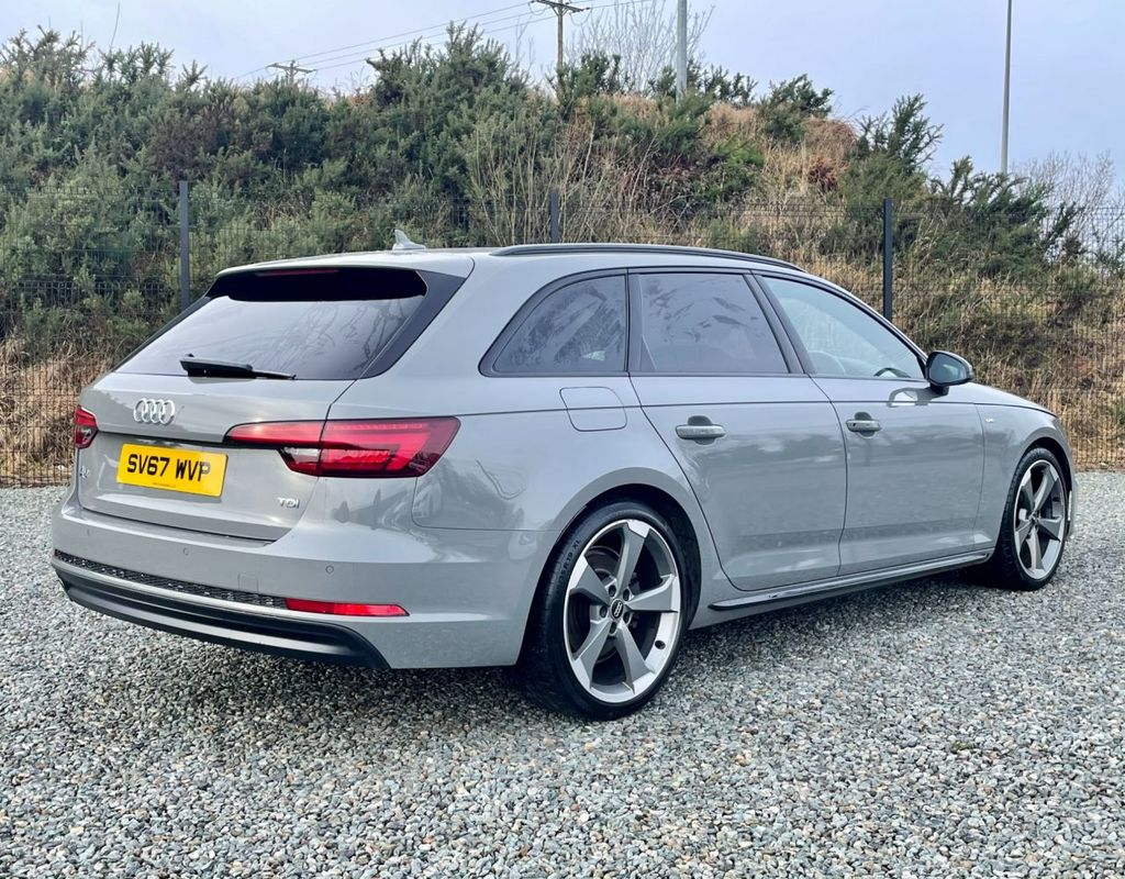 2017 Audi A4 2.0 AVANT TDI BLACK EDITION Diesel Manual  – MC autosales Magherafelt full