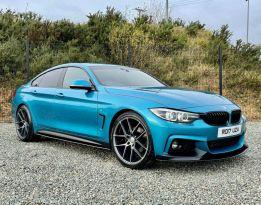 2017 BMW 4 Series 2.0 420D M SPORT GRAN COUPE Diesel Automatic  – MC autosales Magherafelt