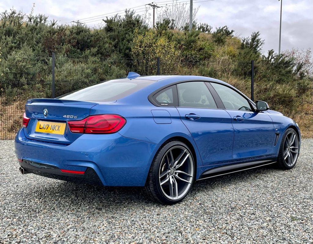 2017 BMW 4 Series 2.0 420D M SPORT GRAN COUPE Diesel Automatic  – MC autosales Magherafelt full