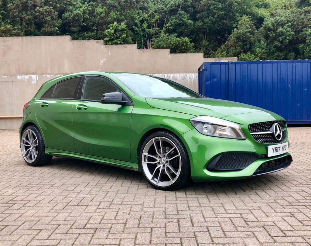 2017 Mercedes-Benz A Class A-CLASS 2.1 A 200 D AMG LINE Diesel Semi Auto  – MC autosales Magherafelt full