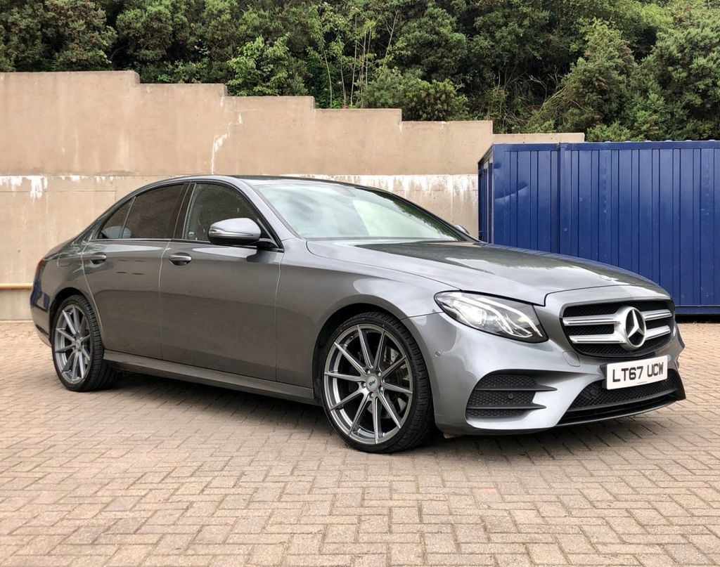 2017 Mercedes-Benz E Class E-CLASS 2.0 E 220 D AMG LINE Diesel Automatic  – MC autosales Magherafelt full