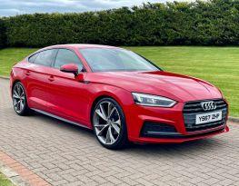 2018 Audi A5 2.0 SPORTBACK TDI S LINE Diesel Manual  – MC autosales Magherafelt