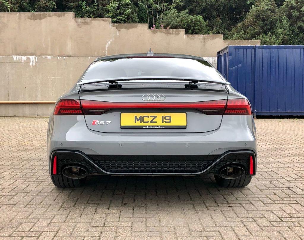 2020 Audi A7 4.0 RS 7 SPORTBACK TFSI QUATTRO Petrol Automatic  – MC autosales Magherafelt full