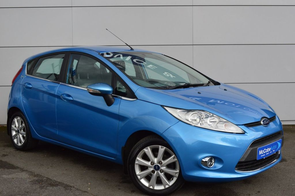 2009 Ford Fiesta 1.2 ZETEC Petrol Manual  – McCabe Autos Belfast