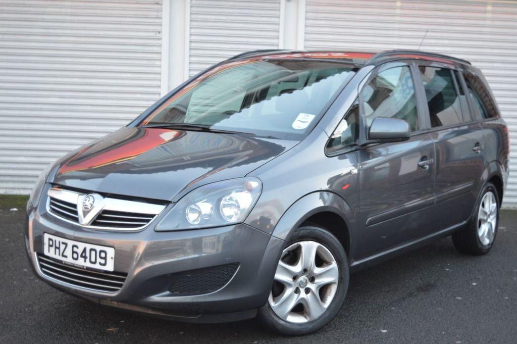 2012 Vauxhall Zafira 1.6 EXCLUSIV Petrol Manual  – McCabe Autos Belfast full