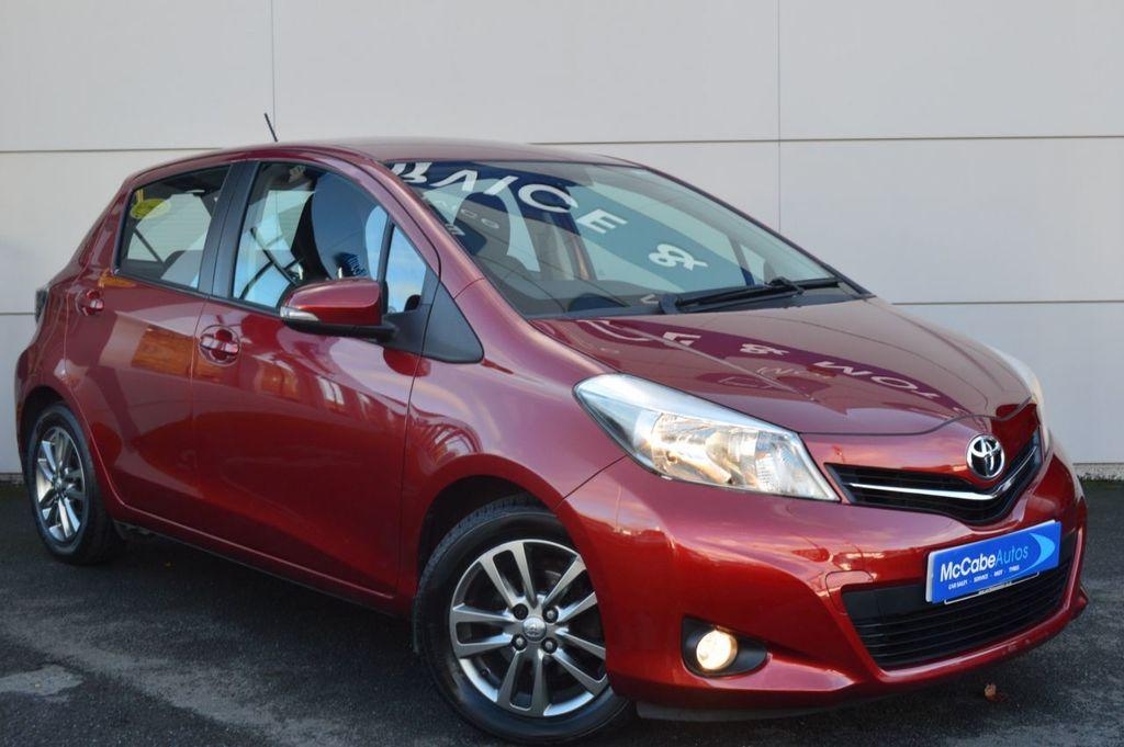 2014 Toyota Yaris 1.3 VVT-I ICON PLUS Petrol Manual  – McCabe Autos Belfast