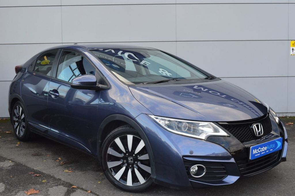 2015 Honda Civic 1.8 I-VTEC SE PLUS Petrol Automatic  – McCabe Autos Belfast