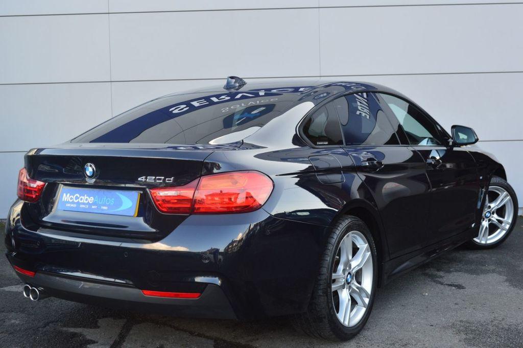 2016 BMW 4 Series GRAN COUPE 420 D M SPORT GRAN COUPE Diesel Automatic  – McCabe Autos Belfast full