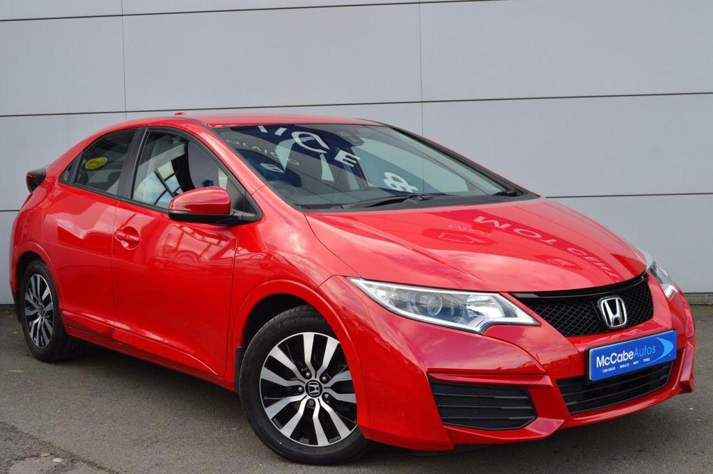 2016 Honda Civic 1.3 I-VTEC S Petrol Manual  – McCabe Autos Belfast