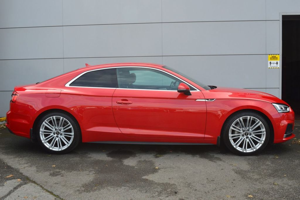 2017 Audi A5 2.0 TDI S LINE QUATTRO S-A COUPE TECH PACK Diesel 7 Speed Auto  – McCabe Autos Belfast full