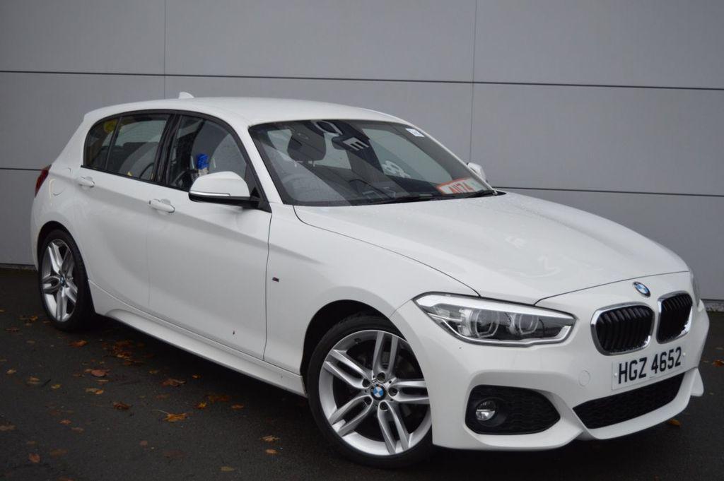 2017 BMW 1 Series 2.0 118D M SPORT Diesel Manual  – McCabe Autos Belfast