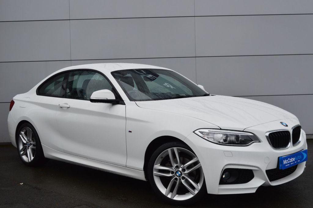 2017 BMW 2 Series 1.5 218I M SPORT Petrol Manual  – McCabe Autos Belfast