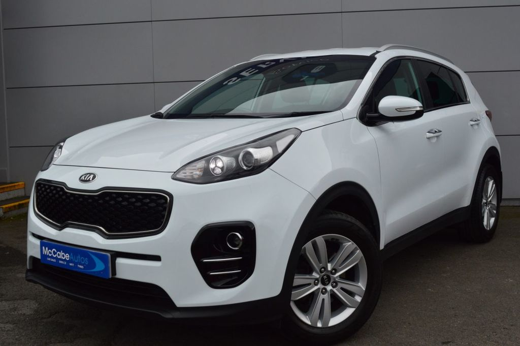 2017 Kia Sportage 1.6 2 ISG Petrol Manual  – McCabe Autos Belfast full