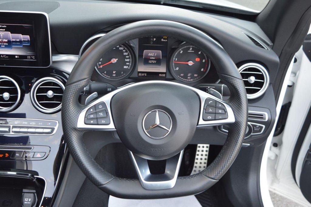 2017 Mercedes-Benz C Class N  C-CLASS 2.1 C 220 D AMG LINE Diesel Automatic ONLY 12,800 miles – McCabe Autos Belfast full